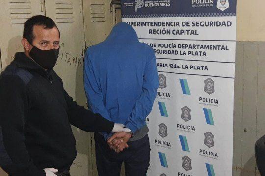 Uno de los detenidos por la entraderas