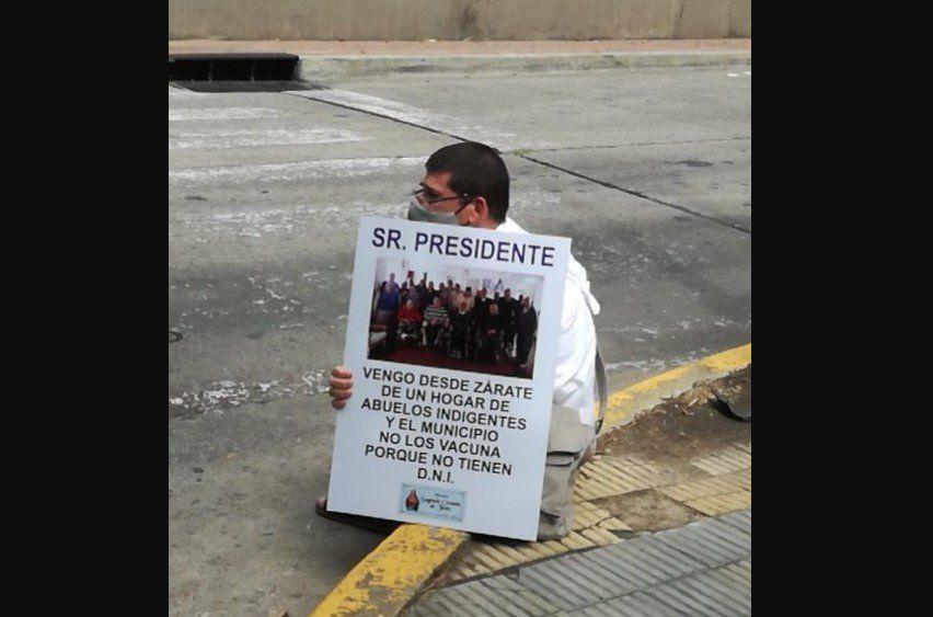 La protesta de un cura en Olivos expuso al intendente de Zárate