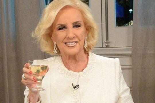 mirtha legrand vuelve a la television para despedir el ano