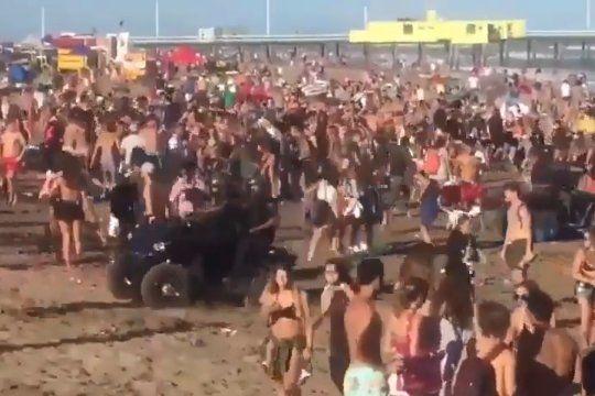 costa atlantica: fiestas, tumultos y descontrol en pleno rebrote de coronavirus