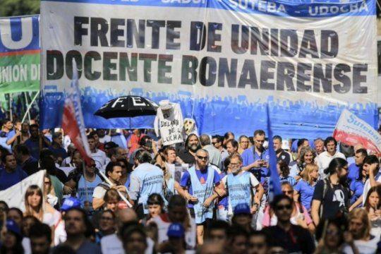 Los docentes nucleados en el Frente de Unidad Docente Bonaerense (FUDB) vuelven a remitirse a la Ministra de Trabajo para que convoque a la Comisión Técnica Salarial.