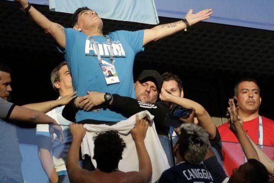 Maradona se metió en la salvación del CD Lugo de España