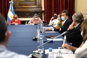 Ganancias: Massa recibió a diputados sindicales