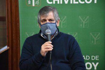 Guillermo Britos, expolicia e intendente de Chivilcoy (Foto de archivo)
