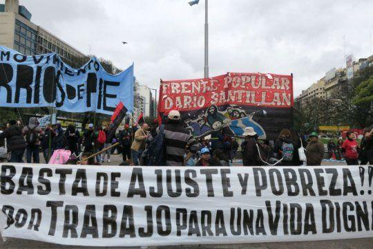 los movimientos sociales descartan un acuerdo con el gobierno para ?no movilizar?