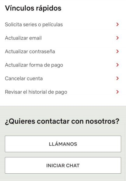 Netflix: cómo solicitar ayuda al cliente