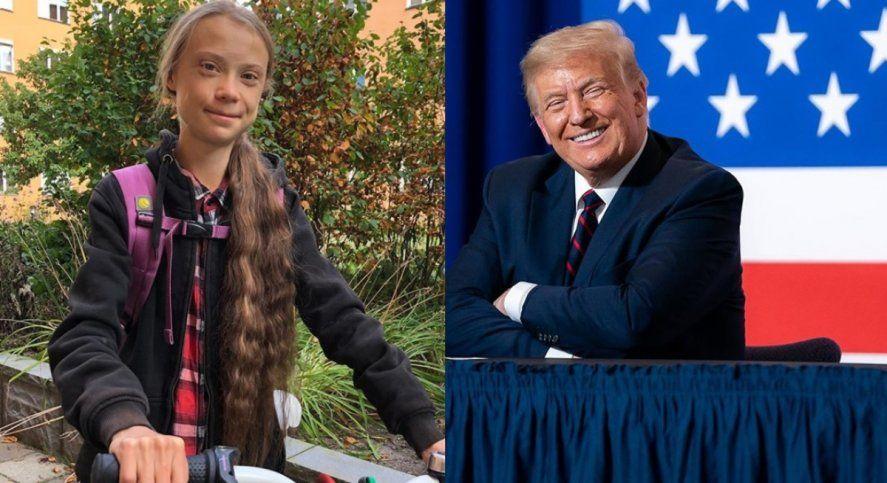 Greta Thunberg le dedicó un filoso tuit a Donald Trump mientras se definen las elecciones