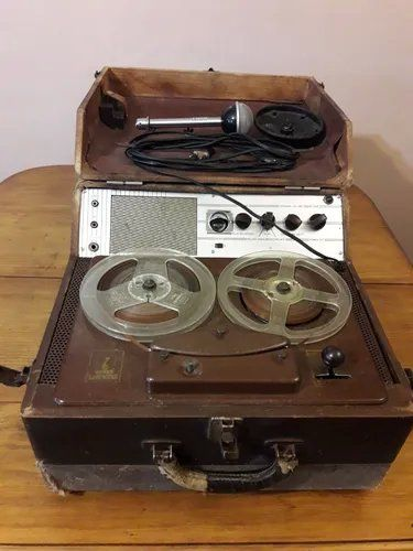 El grabador a cinta abierta fue la tecnología predecesora del cassette