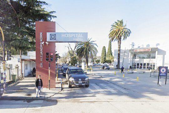 El hombre baleado fue internado en el Hospital de Melchor Romero