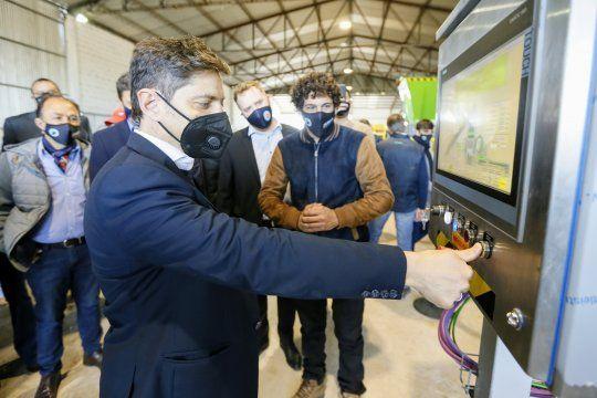 Kicillof presentó tecnología nacional para la transformación de residuos urbanos