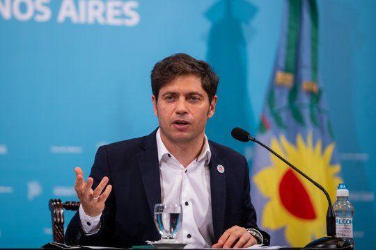 El gobernador bonaerense, Axel Kicillof, aislado nuevamente por ser contacto estrecho.