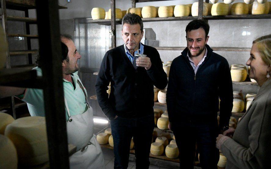 """Massa recorrió dos distritos de la séptima y aseguró que """"se terminará la Argentina para pocos"""""""