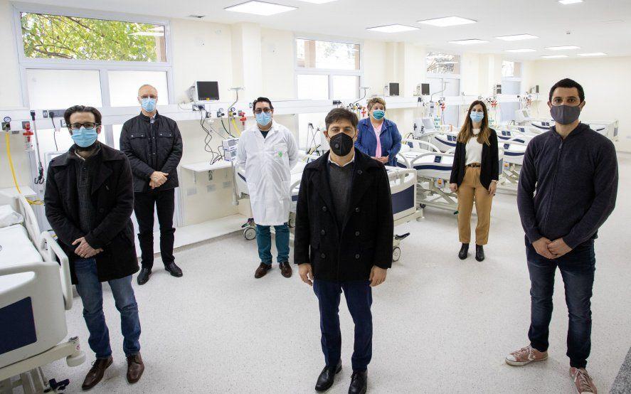 Kicillof inauguró una nueva Unidad de Terapia Intensiva en General Rodríguez