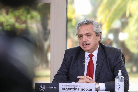 Alberto Fernández encabezará un acto oficial este míercoles