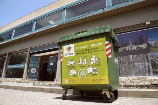 mejoro la separacion de residuos en la plata con la cuarentena: ?la gente reciclo muchisimo mas?