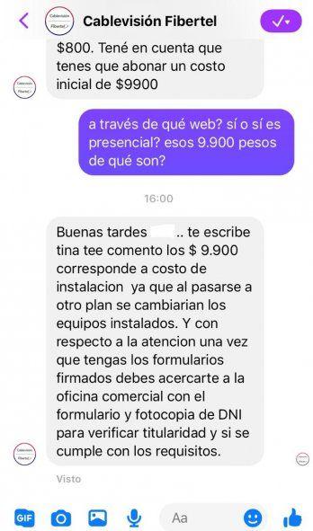 La respuesta de Cablevisión- Fibertel ante el pedido de PBU