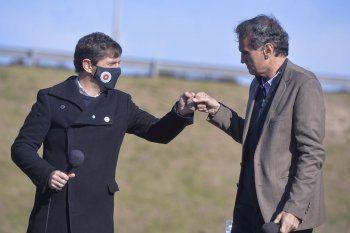 Axel Kicillof y Gabriel Katopodis anunciaron la licitación de la RP N°6 desde Marcos Paz.