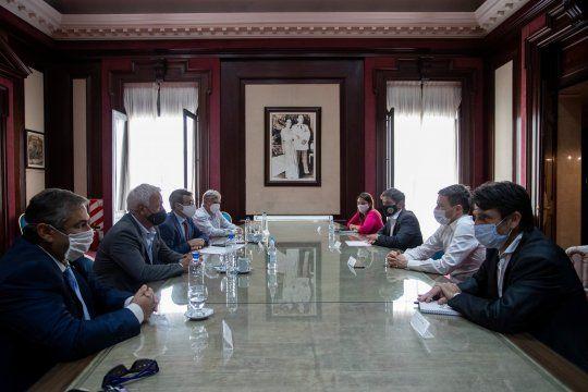 Kicillof se reunió con industriales para impulsar al sector en la provincia.