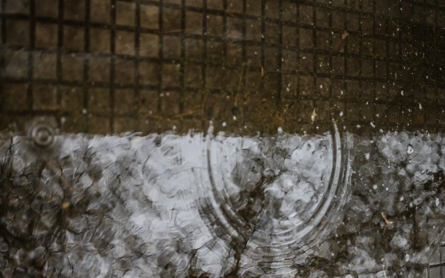 Hay alerta meteorológico por lluvias y vientos intensos con ráfagas para esta noche y el martes