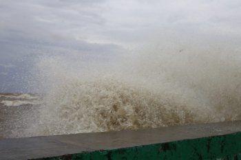 Hay alerta meteorológico por vientos del sudeste en la Provincia de Buenos Aires.