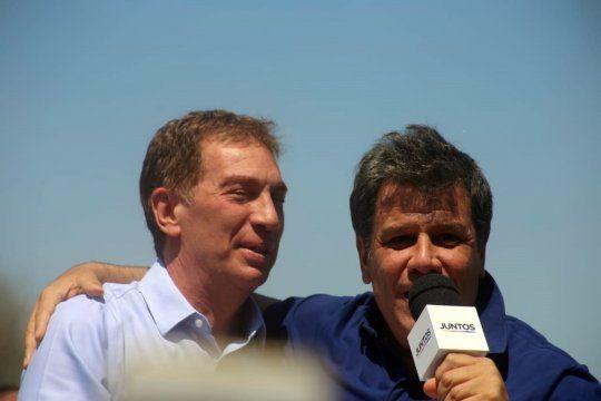 Diego Santilli y Facundo Manes volvieron a compartir un acto de campaña para las elecciones legislativas en la provincia de Buenos Aires.