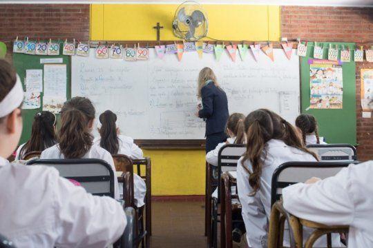 asi se trabaja en el dia de la mujer en las escuelas bonaerenses