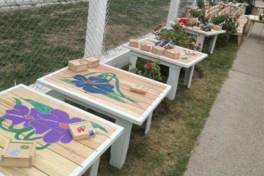 presos de bahia blanca fabricaron muebles para donar a un jardin de infantes que se incendio
