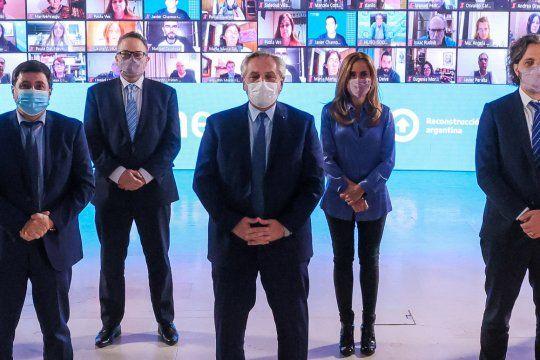 Alberto Fernández lanzó medidas contra el hambre