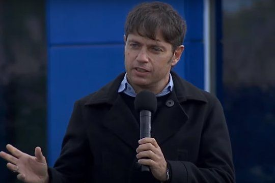 El gobernador bonaerense Axel Kicillof pronunció un discurso muy crítico contra la gestión educativa del macrismo.
