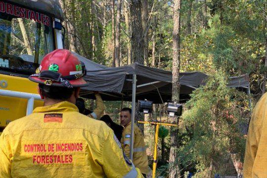 El país en llamas, incendio en Pinamar. Fotos y videos gentileza de Cristian Echeverría