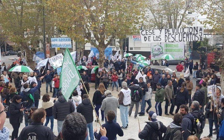 Judiciales bonaerenses comienzan con las jornadas de protesta en reclamo de aumento salarial