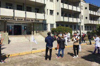 El SSP y CICOP reclamaron paritarias para los trabajadores de salud.