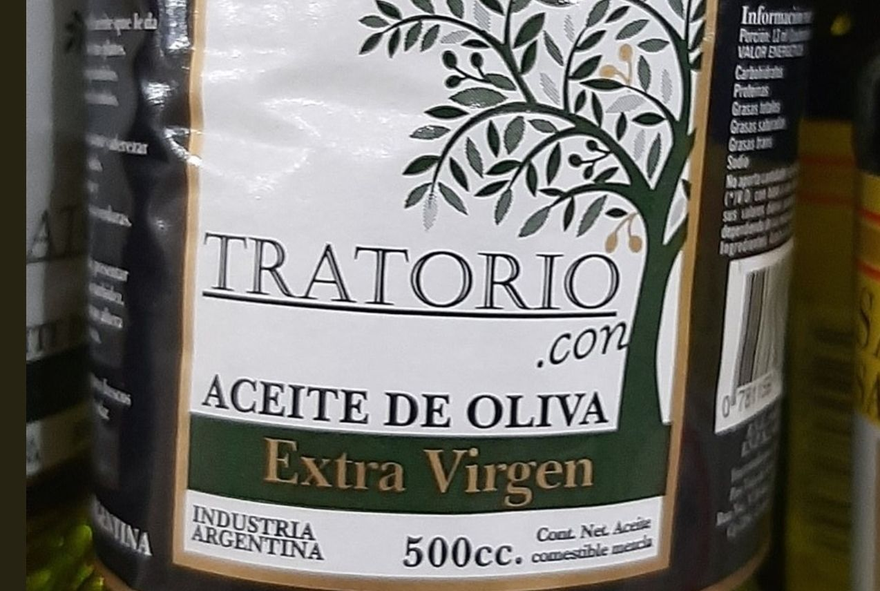 un aceite de oliva engana a los consumidores con un truco lingüistico