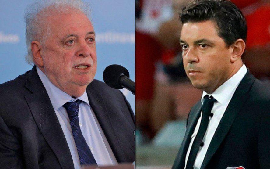 """Ginés le puso los puntos a Gallardo: """"Un pico de coronavirus no es el momento de aperturas futbolísticas"""""""
