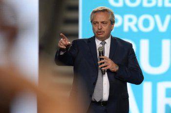 Alberto Fernández habló del retorno a clases tras el coronavirus.