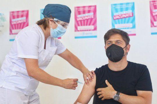 Por estar vacunado, Kicillof no será aislado