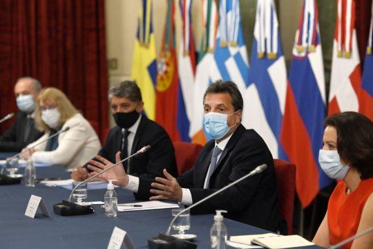 Sergio Massa anunció que en 2021 trabajarán muy fuerte la diplomacia parlamentaria.