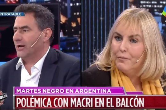 codazo de macri a juliana awada: regazzoni quiso justificarlo y una abogada feminista lo dejo en ridiculo