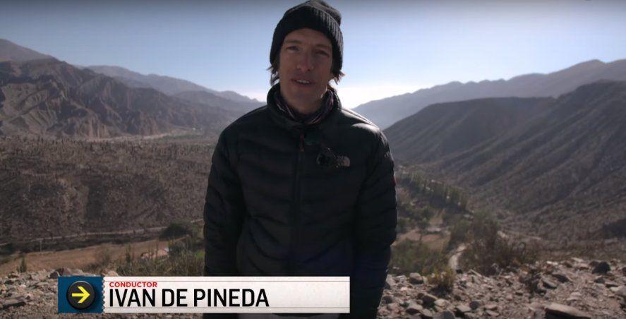 Iván de Pineda viajará por Argentina en su nuevo programa