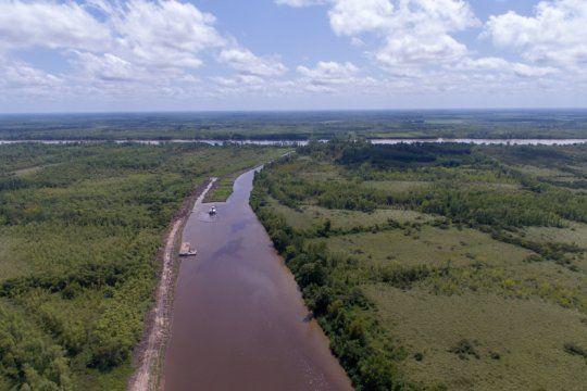 el gobierno quiere reactivar las obras para evitar los desbordes del rio lujan