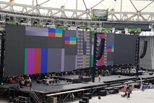 roger waters en argentina: asi se prepara el estadio unico para recibir al ex pink floyd