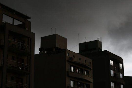 hay alerta meteorologico por lluvias y tormentas fuertes con granizo en varios puntos de la provincia