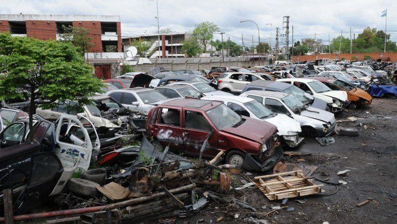 Desarmaderos en la mira: 2.700 locales clausurados, 650 vehículos secuestrados y casi 700 detenidos