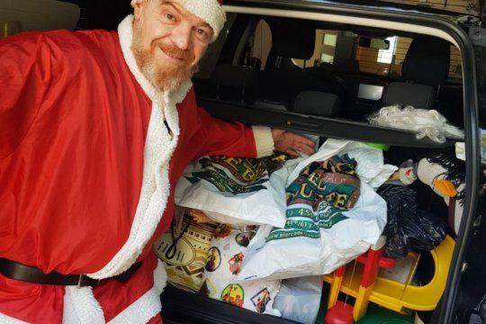 el clasico navideno de la plata: ultima semana de la colecta solidaria ?ni un chico sin papa noel?