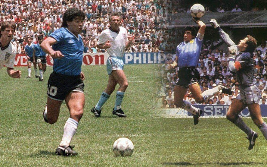 ¿La mano de Dios o el barrilete cósmico?: a 34 años de las obras imborrables de Maradona
