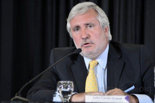 El procurador Julio Conte Grand, eje de las críticas de Teresa García