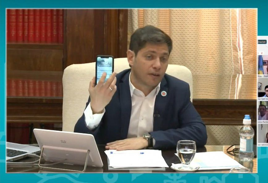 Kicillof pidió que los intendentes lo llamen. En La Plata creen que no es tan fácil.