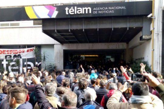despidos en telam: un fiscal dictamino a favor de la reincorporacion de 354 trabajadores