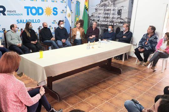 El massismo de la séptima respaldó a los candidatos del FDT