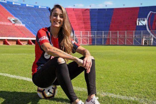 torneo femenino: enterate como ver el debut en san lorenzo de macarena sanchez, la bandera de la profesionalizacion